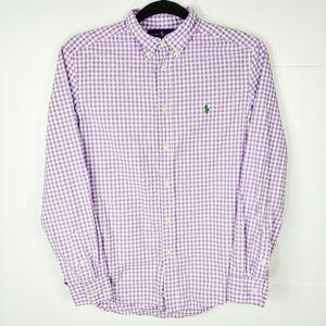 Ralph Lauren Boys Squared Button Down Shirt
